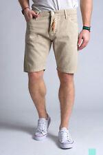 £70 TAKESHY KUROSAWA Men's Distressed Effect Jeans Shorts Size IT 54 - W38 - XL
