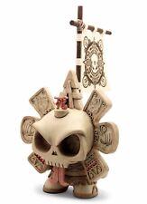 Kidrobot Custom Dunny The Beast Brothers & Huck Gee 8 Inch Lost Skullendario