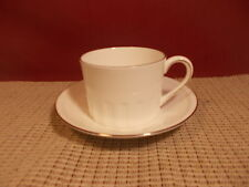 Wedgwood  China Colosseum Platinum Cup & Saucer Set New