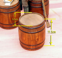 """Toy Model WWII German 1/6 Scale Wooden Barrel Fit for 12"""" action figure In Stock"""