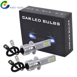 2x H1 LED Headlight Bulbs Conversion Kit High Low Beam Fog Light 35W 6000K White