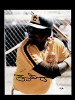 Tony Gwynn PSA DNA Coa Hand Signed 8x10 Photo Autograph