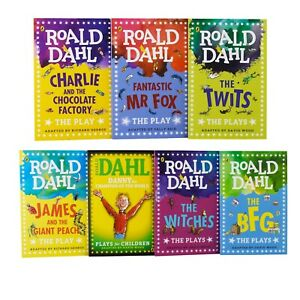 The Plays of Roald Dahl 7 Books Children Collection Set Paperback-9780241383124