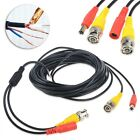 25ft BNC Video and Power Cable Wire Cord with Connector for CCTV Security Camera