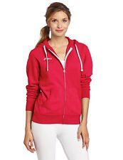 Asics Women's Fleece Hoodie Neon Pink Size S