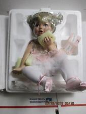 "p73) Ashton Drake Porcelain ""Tickled Pink"" 1st Issue In Orig Box W/COA New Other"