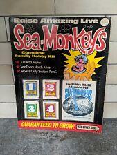New VINTAGE 1970 SEA MONKEYS Complete Family HOBBY KIT TRANSCIENCE NO 300