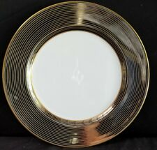 "Fitz & Floyd LES BANDES PLATINEES Dinner Plate 10.25"" (multiple available) mint"