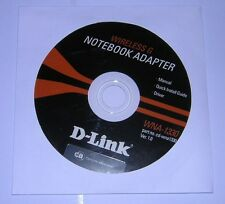 D-Link WNA-1330 Wireless G Notebook Adapter Installation Driver Manual CD-ROM