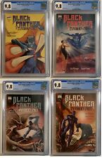COMPLETE BLACK PANTHER-PANTHER'S PREY COMIC LOT SET 1 2 3 4 All CGC 9.8 -LOW POP