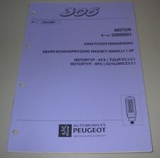 Werkstatthandbuch Peugeot 306 Mehrfacheinspritzung KFX + RFS Magneti Marelli 1AP
