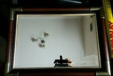 Beautiful wall mirror antique 39.5 cm X 55 cm