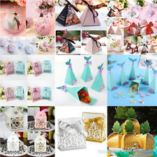 Lots Stytle Candy Gift Ribbons Box  Sweets Packing Bag Wedding Party Favor