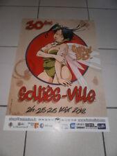 LOISEL La Fée Clochette Affiche 30° Festival BD Solliès-Ville 2018 Dessin inédit