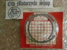 NOS 81-88 Suzuki RM125 Crankshaft Piston Ring Set OEM# 12140-14110