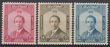 Irak Iraq 1953 ** Mi.164/66 Krönung  König Faisal II Coronation King Potrait