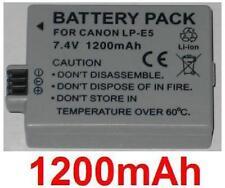 Batterie 1200mAh type LP-E5 LPE5 Pour Canon EOS Rebel T1i