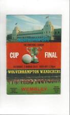 Away Teams S-Z Wolverhampton Wanderers League Cup Football Programmes