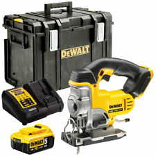 Dewalt DCS331N 18V XR Cordless Jigsaw with 1 x 5.0Ah Battery & Charger in Case