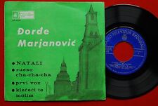 "DJORDJE MARJANOVIC NATALI BECAUD PAUL ANKA 1965 EXYU 7""PS EP   Belgrade Serbia"