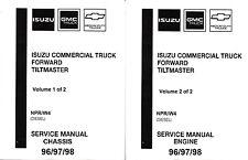 1996 1997 1998 Isuzu NPR, GMC Chevy W4 Diesel Truck Repair Service Manual 000200