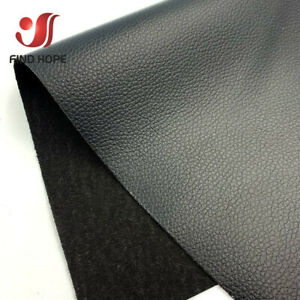 A4 Litchi PU Faux Leatherette Sewing Fabric Viny DIY Bow Earring Making Sheets