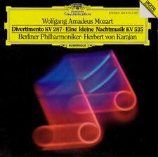 WOLGANG AMADEUS MOZART - DIVERTIMENTO -EINE KLEINE NACHTMUSIK CD