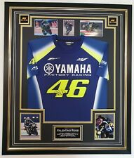 *** NEW Rare VALENTINO ROSSI Signed SHIRT Autographed Jersey Display ***