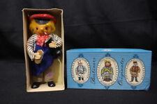 "1960's Berliner Originale Souvenir Cloth Doll In Original Box, Shoe Maker 7.5"""
