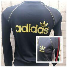 RETRO Adidas Equipment Track Top S Black Rasta Jamaica Africa Ladies Jacket