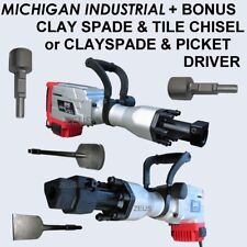 NEW MICHIGAN DEMOLITION BREAKER JACK HAMMER CONCRETE INDUSTRIAL TRADE JACKHAMMER