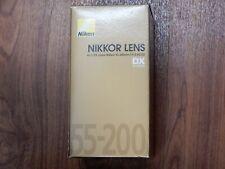 New - Nikon Zoom NIKKOR 55-200mm f/4.0-5.6 SWM AF-S DX A/M G ED Lens - 2156