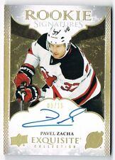 2016-17 Exquisite Collection Rookie Signatures Autograph Spectrum Pavel Zacha 15