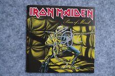 Iron Maiden - Piece of Mind CD Album signed / autograph / signiert