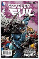 Forever Evil #1 (11/2013) DC Comics Owlman Ratio Variant 1:25