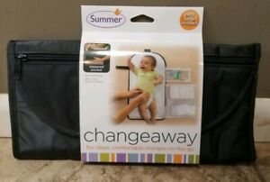 """New Summer Infant - ChangeAway Portable Changing Pad & Diaper Kit 24""""×13"""" New"""
