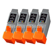 4 Color Ink Cartridge for Canon BCI-24 BCI24 BCI 24 Canon i250 i450 i320 S330