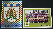 PANINI FOOT 1994 FC GUEUGNON FORGERONS COMPLET FOOTBALL SAISON 1993-94