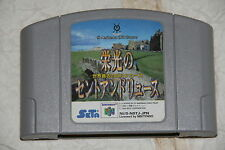 ST ANDREWS OLD COURSE NINTENDO 64 NOBOX JAPAN