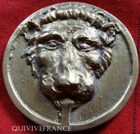 MED2422 - MEDAILLE COMPAGNIE THERMALE DE DAX 1969 TETE DE LION - FRENCH MEDAL