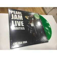3 X PEARL JAM LP LIVE RARITIES  RED & GREEN & BLUE VINYL SEALED