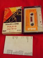 Vintage! DARYL HALL JOHN OATES ROCK'N SOUL PART 1 JAPAN CASSETTE TAPE JAPANESE