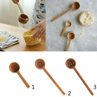 Wooden Ladle Spoon Scoop Soup Cooking Kitchen Catering Tool 14cm 27cm