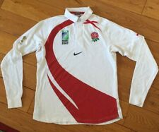 Kids Childs Touth Vintage Retro England Rugby Union Shirt Nike L/s 12/13 Years