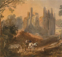 Early 19th Century Watercolour - Birch Castle