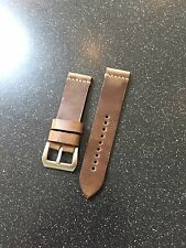 Premium 24mm Horween Leather Vintage Style Watch Strap
