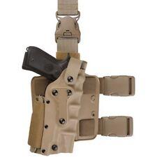 Tactical Holster Leg Airsoft Gear Tan Black Drop Leg Thigh Platform Gun Holsters