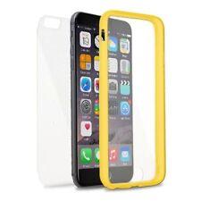 Fundas de color principal amarillo para teléfonos móviles y PDAs Apple