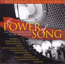 THE POWER OF SONG - A MUSICAL INTRODUCTION TO THE 20TH CENTURY - 20 CD-BOX