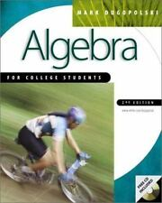 Algebra for College Students with CD-Rom Mac mandatory package